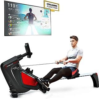 comprar comparacion Sportstech RSX500 Máquina de Remo - Marca de Calidad Alemana - Modo de competición - Incl. pulsómetro (Valor: 39,90) 16 pr...