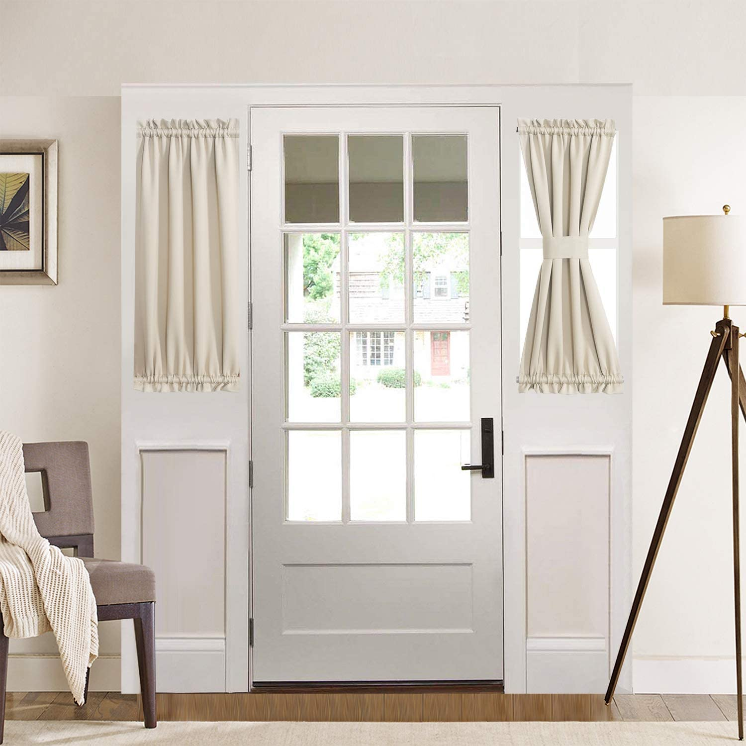 San Diego Mall Aquazolax Blackout Door Window A surprise price is realized Curtain Privacy for Curt