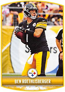 8eb5abda1 2018 Panini NFL Stickers Collection #114 Ben Roethlisberger Pittsburgh  Steelers Official Football Sticker