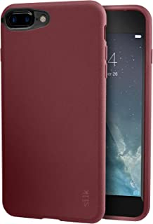 Smartish iPhone 8 Plus / 7 Plus Slim Case - Kung Fu Grip [Lightweight + Protective] Thin Cover for Apple iPhone 7 Plus / 8 Plus (Silk) - Red Rover Red Rover