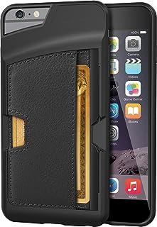 CM4 Q6P2-BLACK iPhone 6/6S Plus Wallet Case Q Card, black on