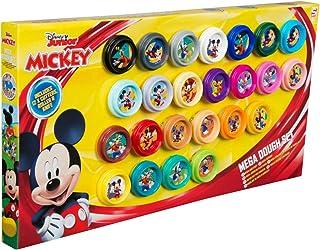 Sambro Dsm4-4719 Mickey 24 Piece Mega Dough Set For 3 Years and Above, Multi-Colour, 5056219010069