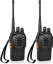 Romacci ® 2 PCS 16CH FM UHF 400-470 MHz Talkie Walkie Transceptor 2 vias Rádio portátil Interfone portátil de longa distân...