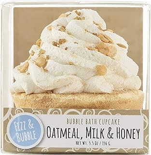 Fizz & Bubble Oatmeal, Milk, & Honey Cupcake Bath Fizzy