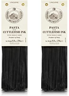squid ink pasta in italian