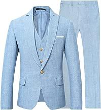 light linen suit