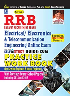 RRB Electrical/Electronics & Telecommunication Engineering Self study guide-cum Practice work book (WITH CD) RRB Engineering(Section & Junior Engineer)