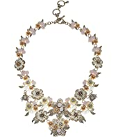 Marchesa - Force of Nature 16 in Flower Drama Runway Collar Necklace