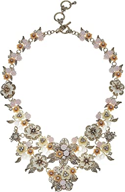 Force of Nature 16 in Flower Drama Runway Collar Necklace