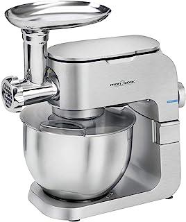 ProfiCook PC-KM 1151 1151-Robot de Cocina, 1300 W, Aluminio