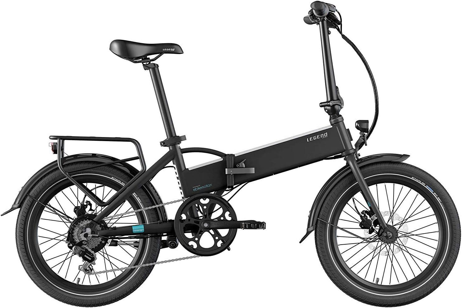 Legend eBikes Bicicleta Eléctrica Plegable Compacta con Rueda de 20 Pulgadas,