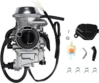 Carburetor Carb with Heater Plug - for 2000-2006 Honda Rancher 350 TRX350 TRX350FE/FM/TE/TM - 2002 2003 2004 Foreman TRX450FE/FM 1997-2004 TRX400FW