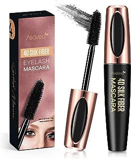 Natural 4D Silk Fiber Lash Mascara, Lengthening and Thick, Long Lasting, Waterproof &..