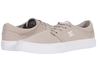 DC Trase TX (Light Grey) Skate Shoes