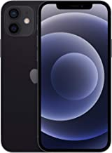 New Apple iPhone 12 (64GB, Black) [Locked] + Carrier Subscription
