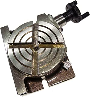 Mini Rotary Table 3 Inch - 75mm Horizontal & Vertical Model - Milling Machine by fairdeals365