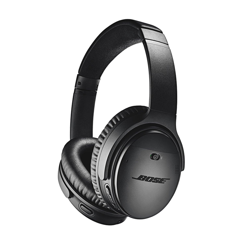 Bose QuietComfort QC35 II 2世代ヘッドウェアラブルワイヤレスBluetoothノイズリダクションステレオヘッドフォン - ブラック