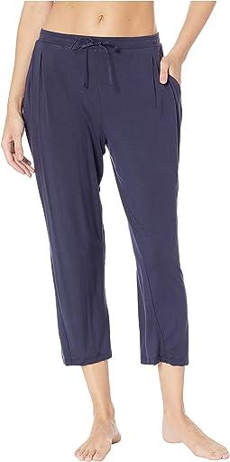 Modal Spandex Jersey Classic Capri Pants