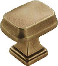 Amerock BP55340GB Revitalize Cabinet Knobs, 1-1/4 in (32 mm) Length, Gilded Bronze
