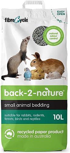 Back-2-Nature Couchage/Litière pour Petits Animaux 10 L