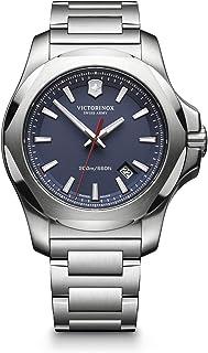 Victorinox Swiss Army Men's Quartz Watch with i.n.o.x. Analogue Quartz Stainless Steel 241724.1