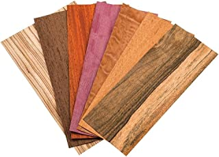 Sauers Mixed Variety Exotic Veneer Pack, 3 sq ft Pack