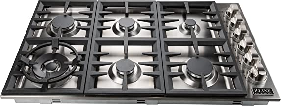 zline 36 gas cooktop
