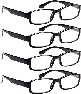 Reading Glasses 4 Pack Men n Women Readers 2.00