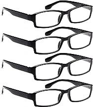 Reading Glasses 4 Pack Men n Women Readers 1.50