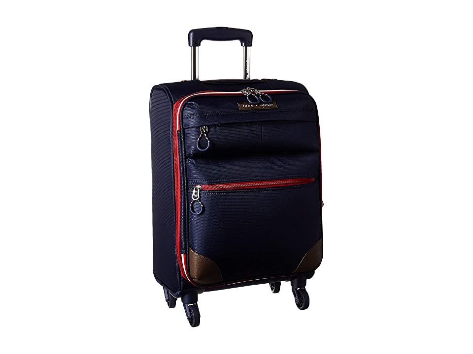 Tommy Hilfiger Glenmore 21 Upright Suitcase (Navy) Pullman Luggage