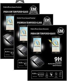 cofi1453 3X pansarskydd glas 9H härdat glas display skydd folie display glas skärmskydd kompatibel med ALCATEL A7 (5090Y)