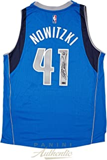 5ced19817eb Signed Dirk Nowitzki Jersey - Royal Blue 2014 Adidas Swingman ~Open Edition  Item~ -