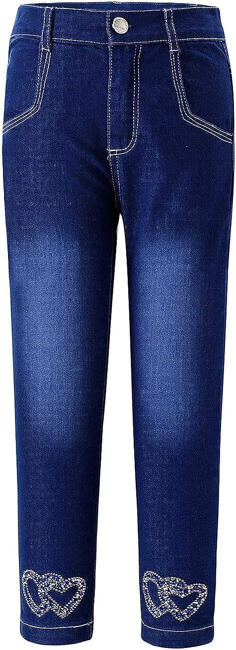 Girl's ElasticityHigh-Rise Straight Leg Louisville-Jefferson County Mall Classics Jean Denim OFFicial store