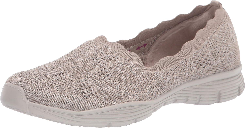 Skechers Women's Seager-Bases Loafer Covered Japan Sale Maker New