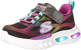 Skechers Girl's Glow-Brites Sneaker