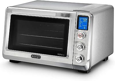 De'Longhi DeLonghi EO241250M Livenza Digital Stainless Steel Countertop Oven, 19 x 17.5 x 12