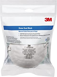 3M 8661PC1-A Home Dust Mask, 5-Pack