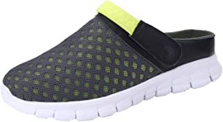 ChayChax Zuecos Mujer Hombre Zapatillas de Playa Respirable Sandalias Verano de Malla Ligeros Antideslizante Clogs Zapatos...