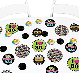 1980s Party Decorations 80s Theme Party Hanging Cards Decorating Kit Retro Design with 2 Ropes and 40 Glue Point Dots 80s Party Supplies 24 Pieces Cassette Tape Cutouts with 7 Different 80s Style