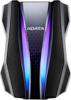 ADATA AHD770G-2TU32G1-CBK HD770Gシリーズ ポータブルHDD 2TB Black USB3.2 Gen1対応 IP68規格 3年保証