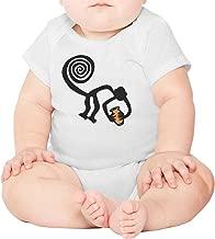 Cat Clip Art Black and White Short Sleeve Baby Onesies Unisex