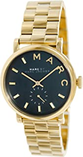 Marc By Marc Jacobs Women's Green Dial Stainless Steel Band Watch - Mbm3245, Analog Display, Quartz Movement
