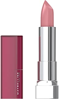 Maybelline Color Sensational Lipstick, Lip Makeup, Cream Finish, Hydrating Lipstick, Nude, Pink, Red, Plum Lip Color, Born With It, 0.15 oz. (Packaging May Vary)