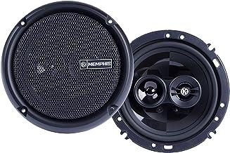 $69 » Memphis Audio PRX603 Power Reference 6.5 Inch 3 Way 50 Watt RMS 100 Watt Peak Power Car Audio Coaxial Speaker System (Rene...