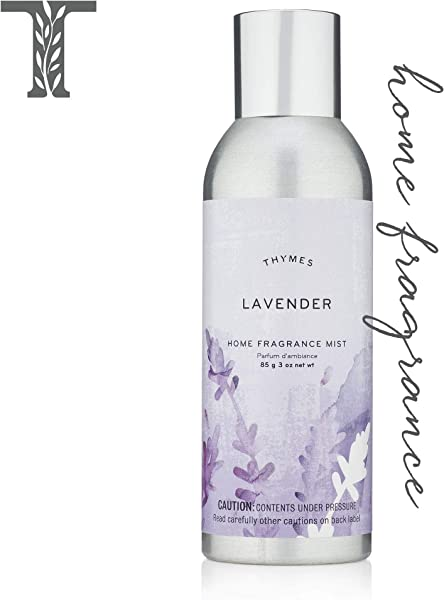 Thymes Lavender Home Fragrance Mist Calming Scented Room Spray 3 Oz