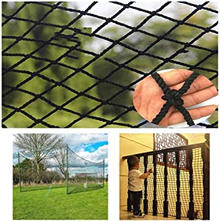 Safety rope netting Outdoor Safety Net, Hand-woven Rope Net - Balcony Stairs Protection Children's Pet Shatter-resistant Protective Net - Playground Garden Fence Plant Decoration Climbing Net, Size Ca