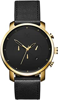 Chrono Watches | 45 MM Men's Analog Watch Chronograph | Gold Black
