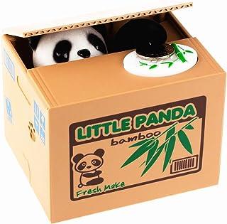 LMTECH Little Panda Money Bank Saving Box Panda Money Box Stealing Coin Panda by LMTECH