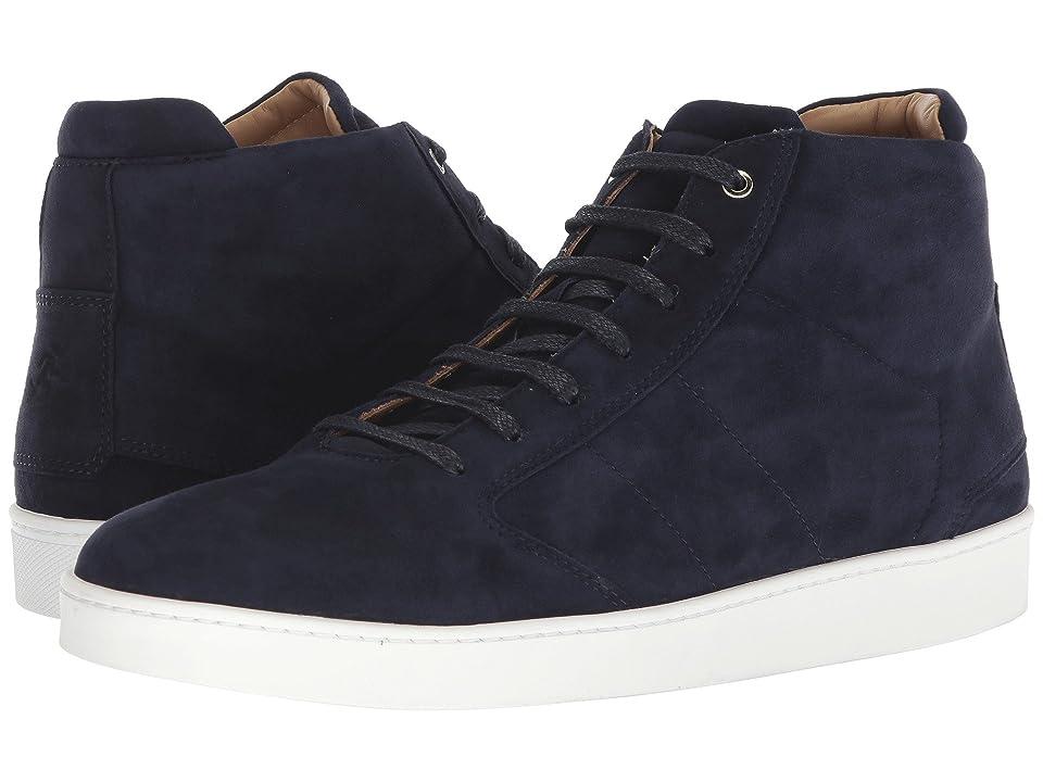 WANT Les Essentiels Lennon Mid Sneaker (Navy Suede) Men