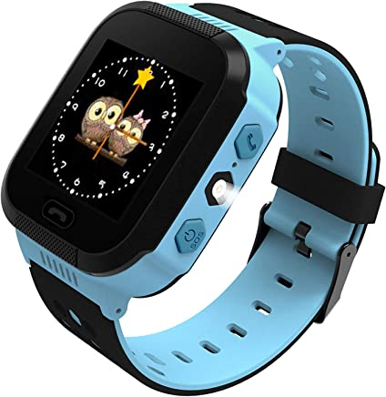 Smart Watch for Kids GPS Tracker Best Phone Watch with...